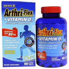 Arthri-Flex Advantage + витамин D3, 180 таблеток