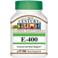 Витамин E (Е-400), 110 капсул