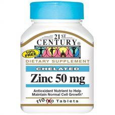 Цинк, 50 мг, 110 таблеток