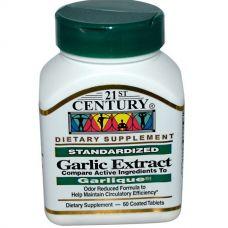 Экстракт чеснока, 60 таблеток