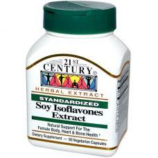 Соевые Изофлавоны, Soy Isoflavones Extract, 60 капсул