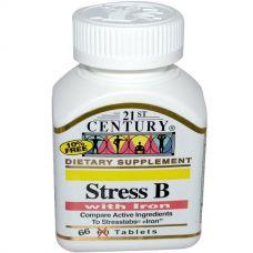 Стресс В + железо, 66 таблеток