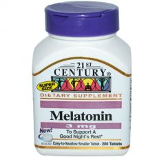 Мелатонин, 3 мг, 200 таблеток
