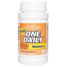 Витамины One Daily для женщин, 100 таблеток