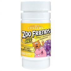 Витамины для детей Zoo Friends, 60 таблеток