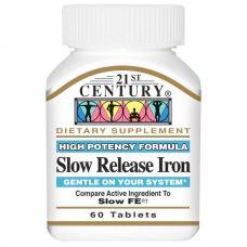 Железо медленного высвобождения, 60 таблеток