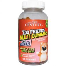 Мультивитамины и минералы Zoo Friends Multi, 150 капсул