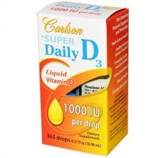 Витамин D3 для детей, 1000 МЕ, 10,98 мл