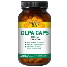 DLPA (DL-фенилаланин), 1000 мг, 60 капсул