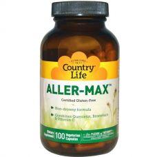 Кверцетин и Бромелайн Aller-Max, 100 капсул