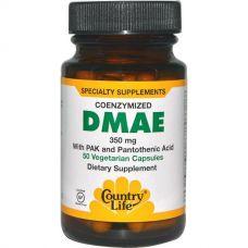 DMAE (ДМАЭ), коферментированный, 350 мг, 50 капсул