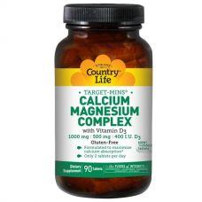 Кальцие-магниевый комплекс, с витамином D3, 90 таблеток