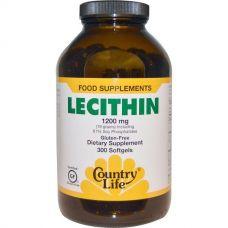 Лецитин, 1200 мг, 300 капсул