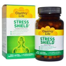 5-НТР стресс щит, Stress Shield, 60 капсул