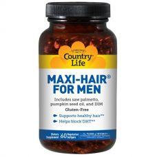 Maxi Hair для мужчин, 60 капсул