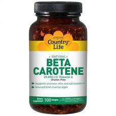 Бета-каротин (Beta Carotene), 100 таблеток