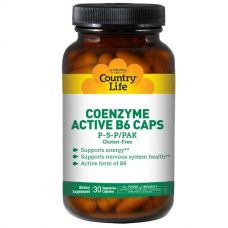 Витамин В6 (Coenzyme Active B6), 30 капсул