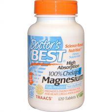 Магний глицинат, Magnesium Chelated, 120 таблеток