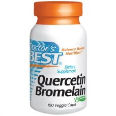 Кверцетин и Бромелаин, 180 капсул