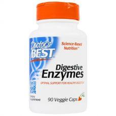 Пищеварительные ферменты, Digestive Enzymes, 90 капсул