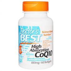 Коэнзим Q10 High Absorption с биоперином, 100 мг, 60 капсул