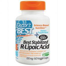 R-липоевая кислота (R-Lipoic), 100 мг, 60 капсул