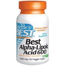 Альфа-липоевая кислота, 600 мг, 60 капсул