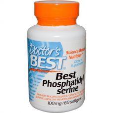 Фосфатидилсерин, 100 мг, 60 капсул