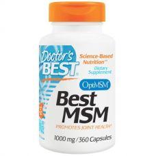 Метилсульфонилметан, МСМ (MSM), 1000 мг, 360 капсул
