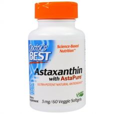 Астаксантин (Astaxanthin) , 3 мг, 60 таблеток