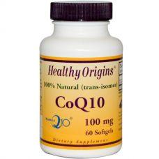 Коэнзим Q10, 100 мг, 60 желатиновых капсул