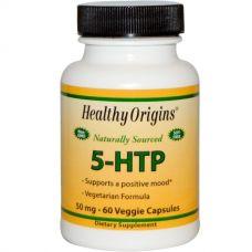 5-гидрокситриптофан, 50 мг, 60 капсул