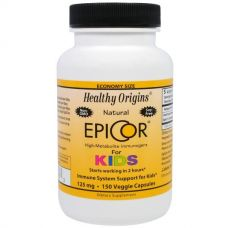 EpiCor (Эпикор) для детей, 125 мг, 150 капсул от Healthy Origins