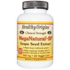 Экстракт виноградных косточек MegaNatural-BP, 300 мг, 60 капсул