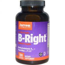 Витамины группы В комплекс, B-Right, 100 капсул