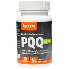 PQQ (пирролохинолинхинон хинона), 20 мг, 60 капсул