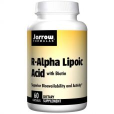 R-Альфа-липоевая кислота и биотин, 60 капсул