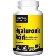 Гиалуроновая кислота, 50 мг, 60 капсул