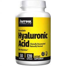 Гиалуроновая кислота, 50 мг, 120 капсул