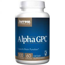 Альфа GPC (альфа-глицерофосфохолин), 300 мг, 60 капсул