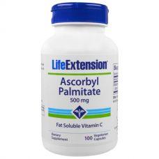 Аскорбил пальмитат, 500 мг, 100 капсул