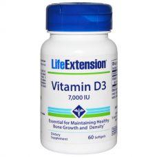 Витамин D3, 7000 МЕ, 60 капсул