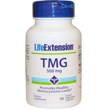 TMG (триметилглицин), 500 мг, 60 капсул