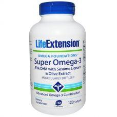 Супер Омега-3, 120 капсул