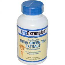 Экстракт зеленого чая  без кофеина , 100 капсул