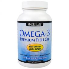 Рыбий жир с омега-3, 100 капсул