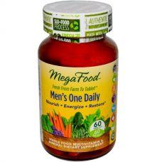 Ежедневный витамин для мужчин, без железа 60 таблеток