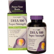 Рыбий жир DHA-500, 500 мг, 30 капсул