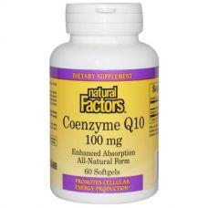 Коэнзим Q10, 100 мг, 60 капсул