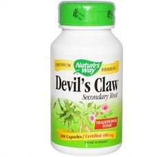 Коготь дьявола, 480 мг, 100 капсул
